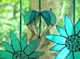 easy stained glass suncatcher patterns free heart turquoise