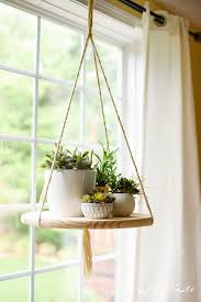 This DIY is being pinned like crazy and she only just posted it! Hanging  SucculentsHanging HerbsHanging Plant ...