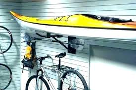 diy kayak rack kayak holder garage kayak wall storage hooks how to hang kayak in garage