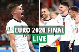 England vs Italy in final at Wembley ...