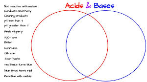 Acid And Base Venn Diagram Acids Bases Venn Diagram Activity Middle School Science Blog
