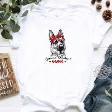 German Shepherd Mom Shirt Dog Mom ...