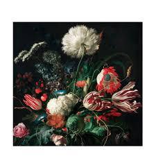 Kek Amsterdam Fotobehang Golden Age Flowers I 6 Banen Wehkamp