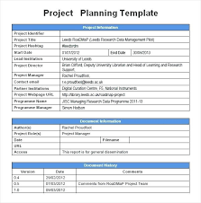 Project Planning Template Free Download A Sample Project Construction Scheduling Template