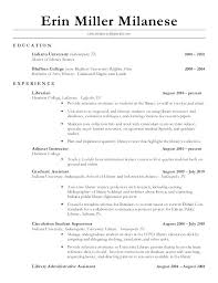 Sample Academic Librarian Resume Librarian Resume Sample Entry Level Library Assistant Resume More 83