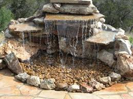 Relaxing garden backyard waterfalls Stone Contemporary Small Backyard Waterfall 75 Relaxing Garden And Dig Pondless Water Fixture Made Only Of Natural Stone Idea Pond Photo Picture Rock Pool With Garden Decors Contemporary Small Backyard Waterfall 75 Relaxing Garden And Dig