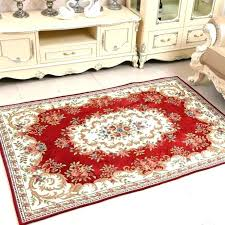 circle throw rugs red for decoration round kitchen small circular dining room