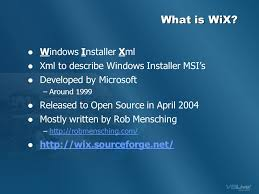 what is windows installer win web app installers with wix ppt video online download