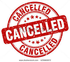 「cancellation」の画像検索結果