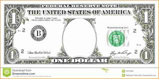 Design Your Own Dollar Bill Template Dollar Bill Template Clipart