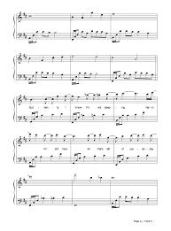 hello free piano sheet music hello evanescence stave preview 4 free piano sheet music piano chords