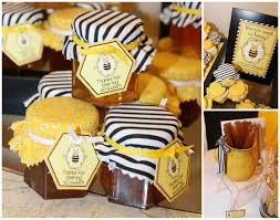 Vintage Bumble Bee Baby Shower  Amanda G WhitakerBumble Bee Baby Shower Party Favors