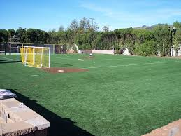 grass soccer field with goal. Synthetic Turf International Baseball Batting Cages Fields Halos Sports Artificial Grass Soccer Field With Goal T