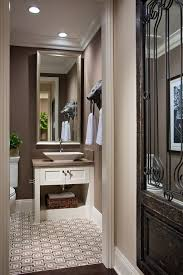 traditional powder room with desert bloom quartz kohler k 4819 0 white reve