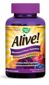 Nature's Way <b>Alive</b>! Women's <b>Multivitamin</b>/Mineral Supplement ...