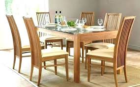 glass dining table set round dining sets for 6 round wood round table dining set