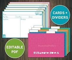 Printable Christmas Recipe Cards Free Printable Blank Christmas Recipe Cards Behind The Card