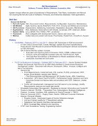 Software Qa Engineer Resume Examples Iseries Tester Cover Letter