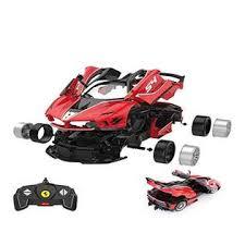 Rastar Rc Car Kits To Build 1 18 Ferrari Fxx K Evo Rc Car Assembly Building Kit With Remote 92pcs Diy Stem Kits For Kids