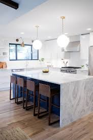 custom kitchen island ideas. Best 25 Waterfall Kitchen Island Ideas On Pinterest Galley Remodels With Custom Islands