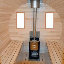 Intérieur Du Sauna En Tilleul ...