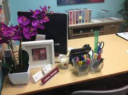 decorate office desk.  Desk Best Office Desk Decor Ideas With 1000 Images About Cozy Cubicle Within  Decoration Increase Inside Decorate N