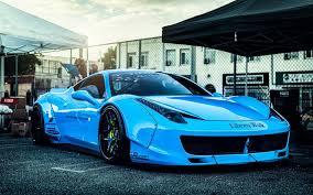 Herunterladen Hintergrundbild Liberty Walk Tuning 4k Ferrari 458 Italia Supercars Blau 458 Italia Italienischen Autos Ferrari Für Desktop Kostenlos Hintergrundbilder Für Ihren Desktop Kostenlos