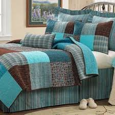 http://allaboutgirlx.blogspot.com/ | All About Girls | Pinterest ... & Sophie Square Blue & Brown Quilted Bedding | Wild Wings- for our ... Adamdwight.com