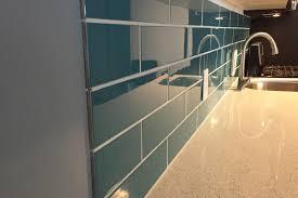 kitchen tile backsplash edges diy turquoise subway tile backsplash