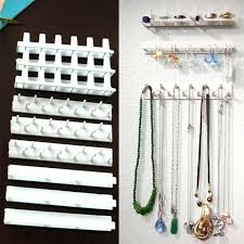 wall mounted jewelry hangers wall mount jewelry holder best wall