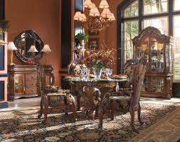 Decoration Formal Round Dining Room Sets Kingston Plantation Oval - Formal oval dining room sets