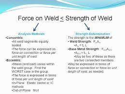 Welding Intro