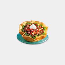 carl s jr taco salad ground beef