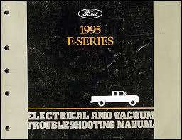 1995 ford obd1 engine emissions diagnosis manual original 1995 ford pickup truck f150 f550 electrical troubleshooting manual original