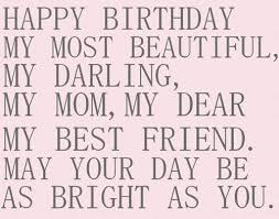 Birthday Quotes For Mom Mesmerizing The 48 Happy Birthday Mom Quotes WishesGreeting