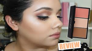 new at ulta sleek face forming contouring and blush palette review demo