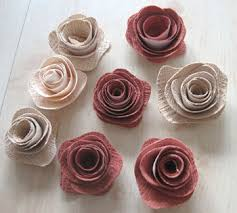 Rose Flower With Paper Rolled Paper Flowers 9 Steps With Pictures