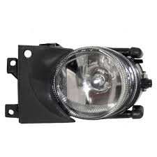 Driver Side Fog Light Cover Replacement 01 03 Bmw 5 Series Drivers Fog Light Assembly With Round Lens