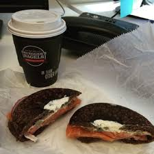 photo of bruegger s bagels washington dc united states plain coffee and the