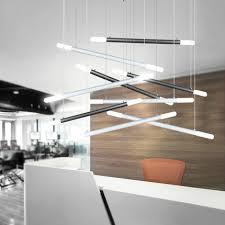 tube office. aliexpresscom buy modern led tube hanging light brief fashion office lamp creative decoration design aluminum made blackwhitesilver 1m from t