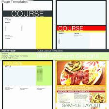 Cookbook Format Template Homemade Recipe Book Template Fresh Cookbook Template Layout