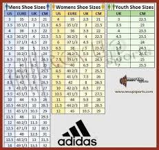 Adidas Shoe Size Chart Junior Adidas Junior Size Chart 2019