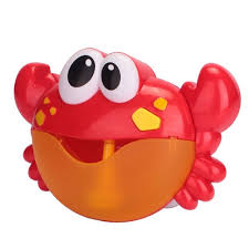 bathtub bubble maker cute crabs shape baby toys pool swimming soap machine for children plastic kids