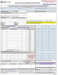 47 Reimbursement Form Templates Mileage Expense Vsp