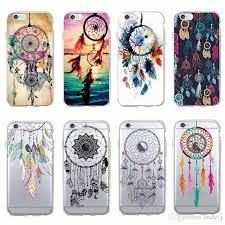 Dream Catcher Case Iphone 7 Plus Cool Atrapasueños Dream Catcher Colorful Printed Soft Clear Phone 100