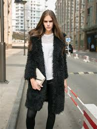 2016 new winter women plus size faux fur coat black pink grey long sleeve thicken jacket