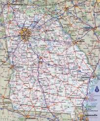 download georgia road map  major tourist attractions maps