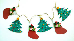 Christmas Decorating Christmas Decorating Ideas Diy Quilling Paper Christmas Garland