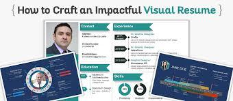 Visual Resume Powerpoint Templates Curriculum Vitae Powerpoint