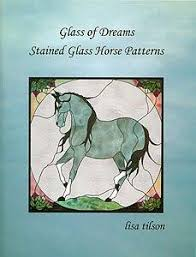 Stained Glass Pattern Books Delectable Stained Glass Pattern Book Glass Of Dreams Stained Glass Horse